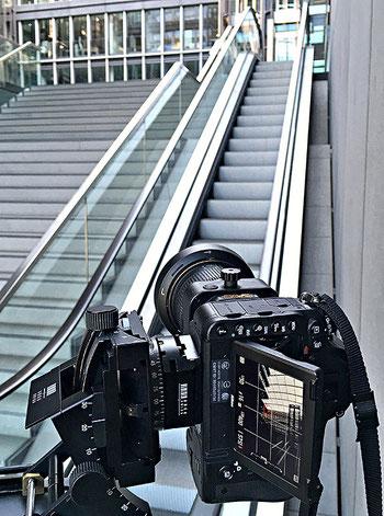 Praxistest NIKON D750 beim Architektur-Shooting mit dem PC-E Nikkor 24 mm 1:3,5. Foto: bonnescape