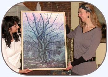 Elfenbaum - Bildübergabe