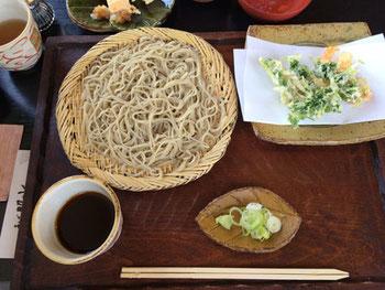 益子町で食べた蕎麦