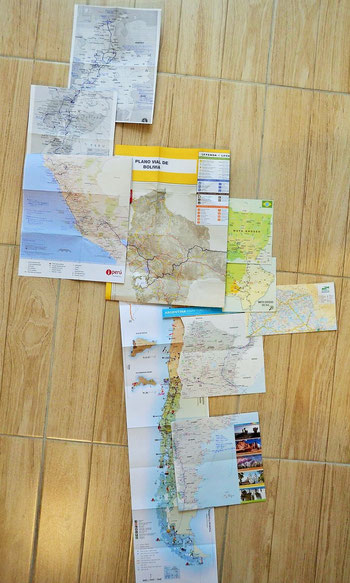 The route we drove with Monty from May_16 to March_17