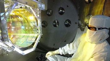Credit: Matt Heintze, Caltech/MIT/LIGO Lab