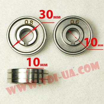 ролик полуавтомата 0,6-0,8мм 30Х10Х10