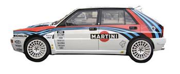 lancia delta evoluzione integrale grafica completa sponsor martini 1992 pubblimais