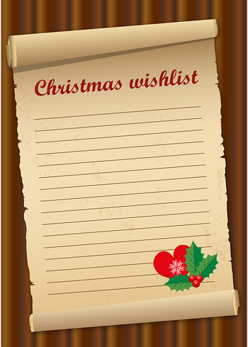 Wunschzettel - Dies ist eine wundervolle Übung, passend zur Weihnachtszeit - Du kannst sie aber natürlich auch machen, wann immer Dir danach ist.