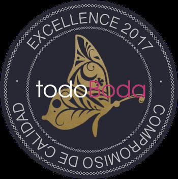 La Pagoda ha sido seleccionada como una de Las 5 Mejores floristerías para bodas en Canarias y premiada con el sello de certificación de excelencia   por TodoBoda.