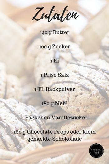 recipe American chocolate chip cookies