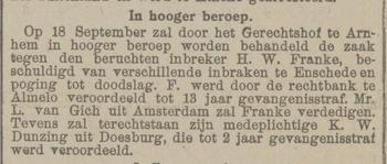 Provinciale Geldersche en Nijmeegsche courant 28-08-1924