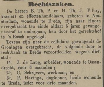 De grondwet 15-01-1885