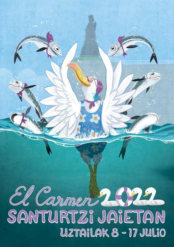Fiestas del Carmen en Santurce - Santurtzi Jaietan