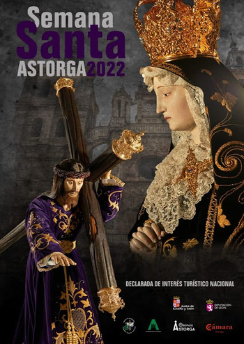 Cartel de la Semana Santa de Astorga 2016