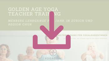 Yoga2day. Coaching im Yoga Unterricht. Yoga Ausbildung, Yoga Weiterbildung, Golden Age Teacher Training. In Zürich Oerlikon.