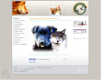 """Tierschutzverein """"Reich mir die Pfote"""" musste zum Herbst 2014 aufgelöst werden."""
