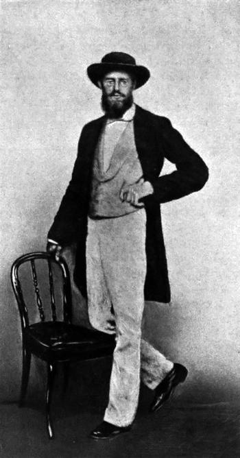 My look-alike Alfred Russel Wallace