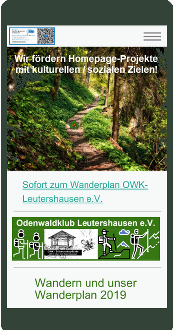 Bild Mobilansicht OWK Leutershausen e.V.