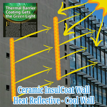 You can refer to Ceramic InsulCoat Wall as a Cool Wall Coating or Cool Wall Paint