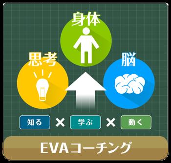 知る・学ぶ・動くとシンプルなメソッドのEVAコーチング