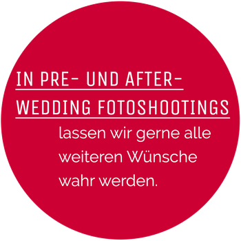 pre- und adter-wedding fotoshootings