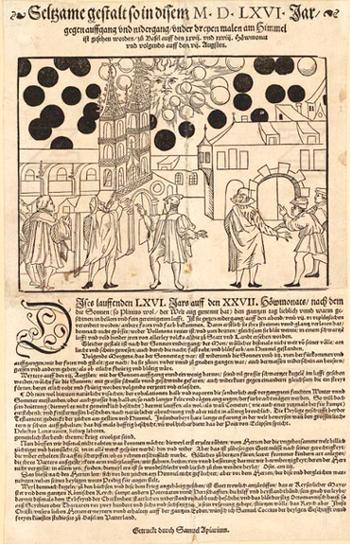 Il fenomeno celeste di Basilea del 7 agosto 1566