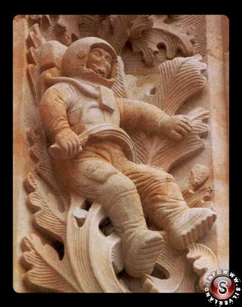 Astronaut of Salamanca - Astronauta di Salamanca