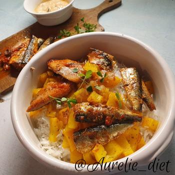 riz sardines salade vegetarienne dieteticienne nutritionniste mulhouse