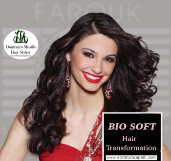 Stiratura dei  capelli delicata Bio soft per capelli senza crespo