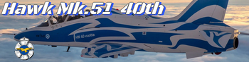 Finland celebrates 40 years of BAE Systems Hawk Mk.51  operations