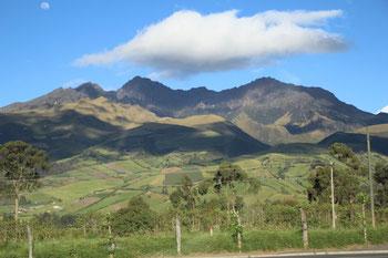 la campagne équatorienne