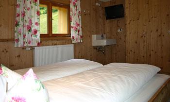Gemütliche Schlafzimmer mit tollem Ausblick