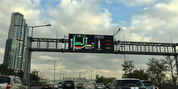 Live traffic displays