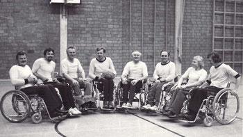 Das erste Rollstuhlbasketball-Training in Osnabrück