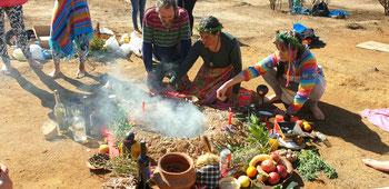 Wir feiern den 'Dia de la Pachamama'