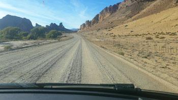Unterwegs zum Piedra Parada