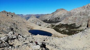 Laguna Schmoll oberhalb des Refugio Frey