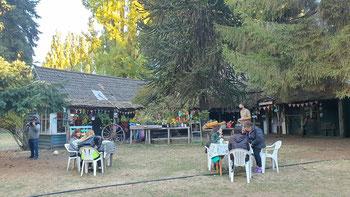 Bauernhof-Kaffee Chacra Paso Flores in Dina Huapi