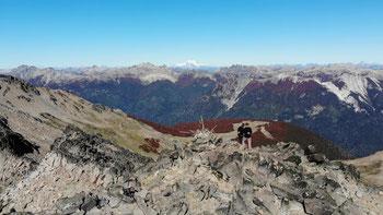 Drohnenfoto vom Cerro Falkner
