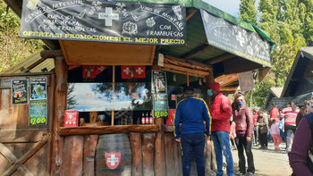 Walliser Bier in Colonia Suiza