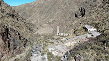 Ziel erreicht: zu Fuss zur Mina del Oro