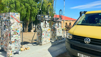 Tankstelle in Tres Lagos