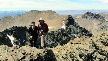 Auf dem Cerro Piltriquitrón