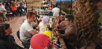 Geburtstagsfeier in Chilecito