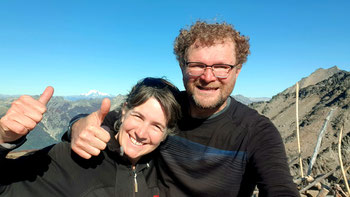 Geschafft: Cerro Falkner