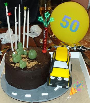 Nicoles Geburtstagskuchen zum 50.