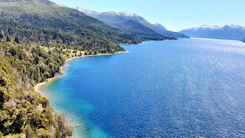Traumstrände am Lago Traful