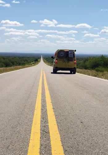 Unterwegs nach Chilecito