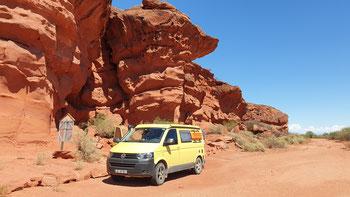 Die Cueva del Chaco in Los Colorados