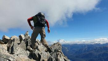 Aussicht auf den Cerro Tronador