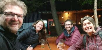 Cerveza Artesanal in der Cervezeria Punto de Partida