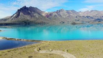 Übernachtungsplatz beim Lago Belgrano