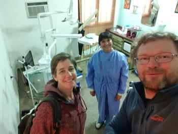 Besuch bei der Dentalhygienikerin in Chilecito