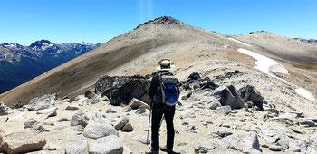 Aufstieg auf den Cerro 0'Connor